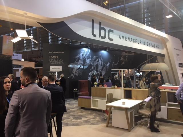 Workspace Expo 2018 Stand De Lbc Le Bureau Contemporain Eben