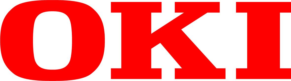 Logo rouge d'OKI