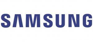 Logo bleu de Samsung