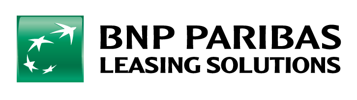 Logo vert et noir de BNP Paribas Leasing Solutions